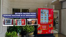 Review Frozen food Vending Machine # 1 di Indonesia