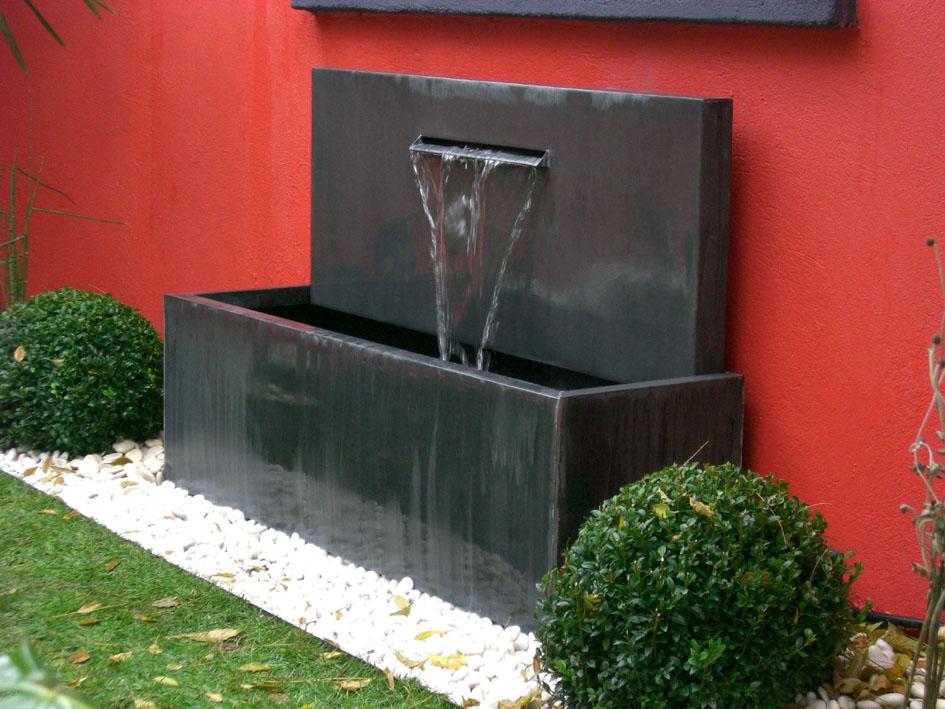 Fontaine Zinc à lame
