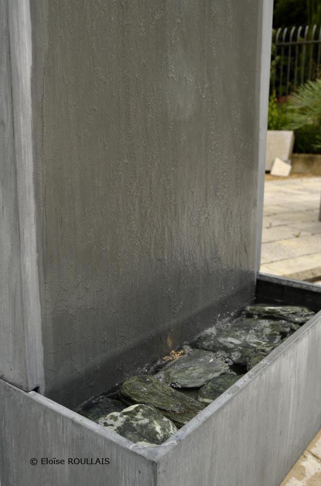 Mur d'eau Zinc