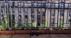 Jardinière cuivre