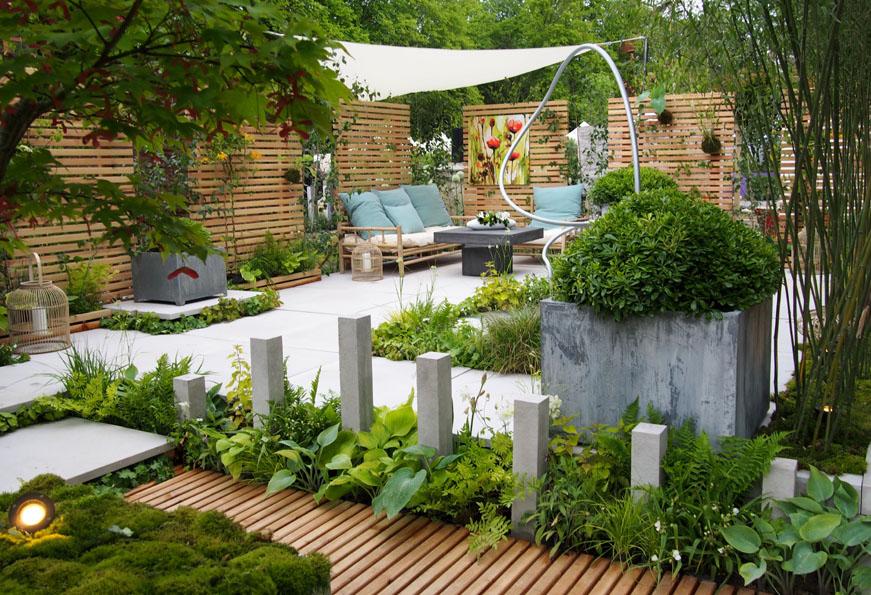 Fontaine & jardinière titan - zinc