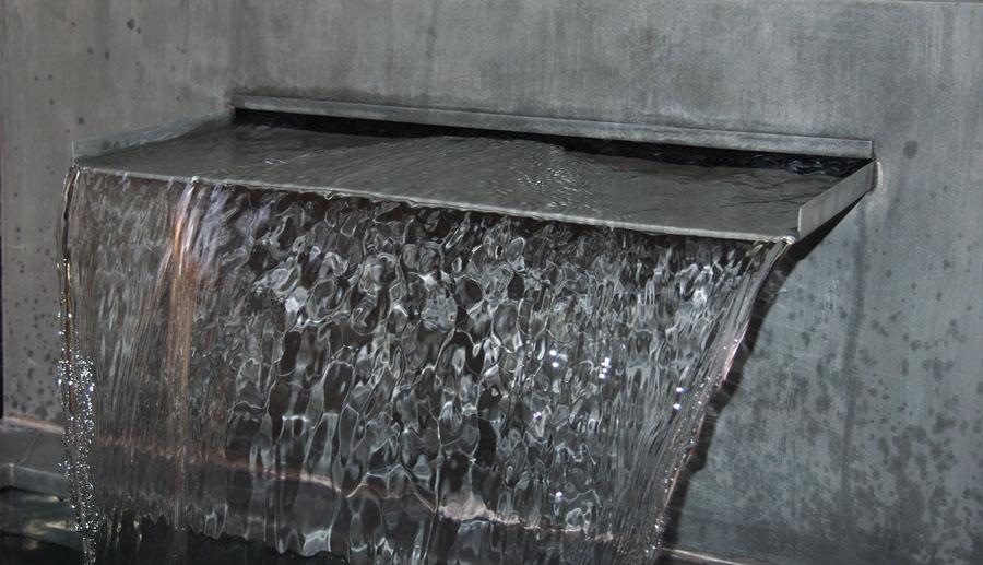 Fontaine Bassin zinc