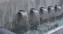 Fontaine zinc titanium