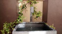 Fontaine Bassin Zinc à bec