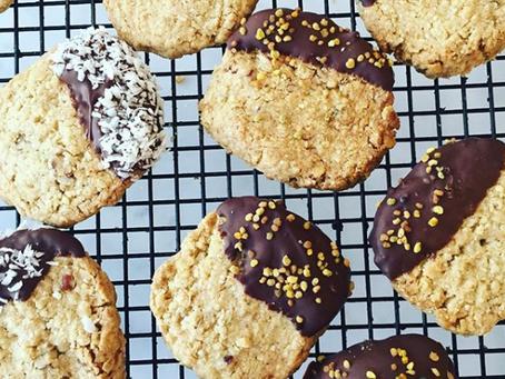 Buckwheat & Seeded Cookies