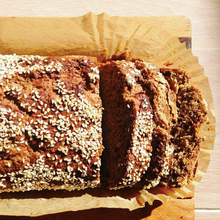 Buckwheat and Hemp Banana Bread