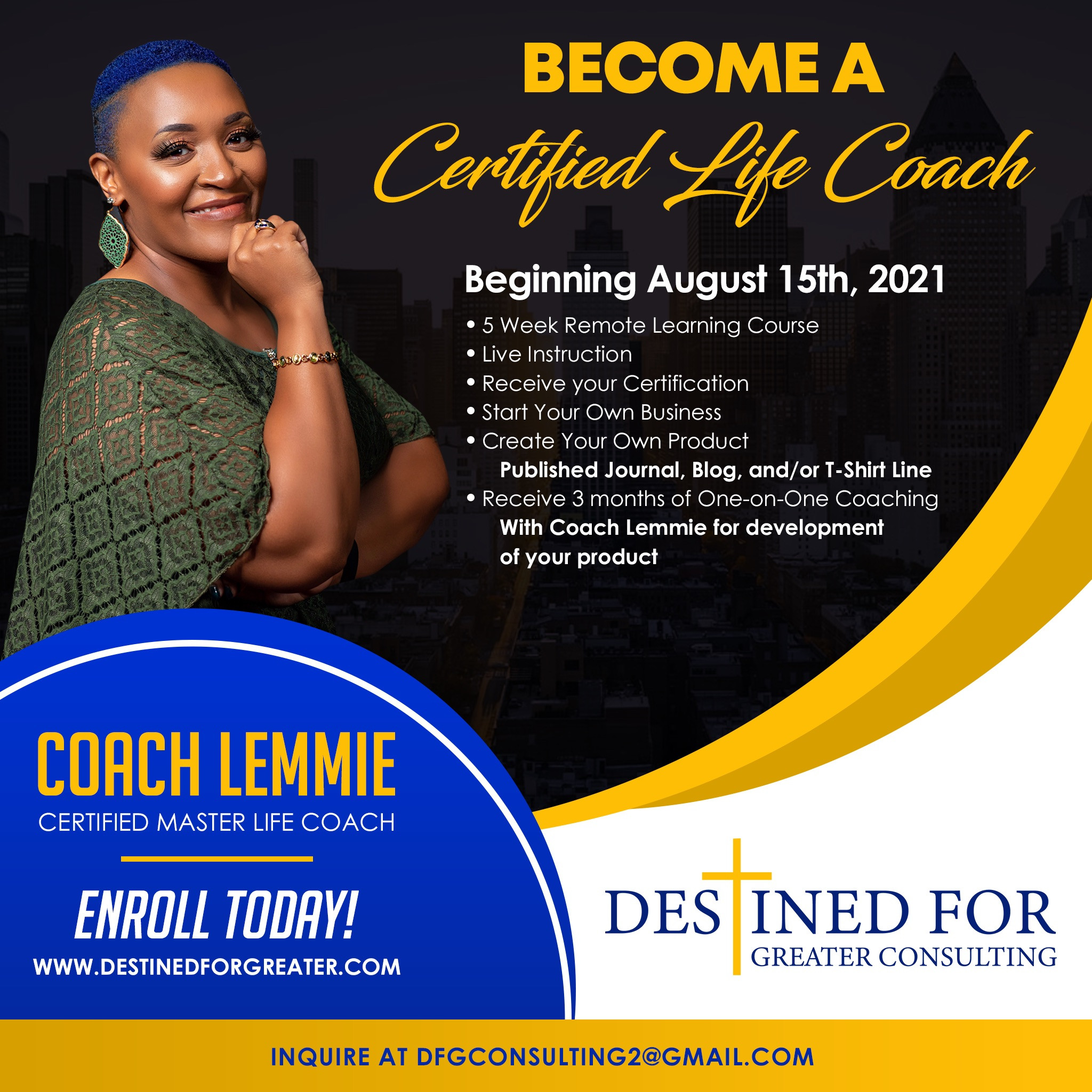 Become a Certified Life Coach
