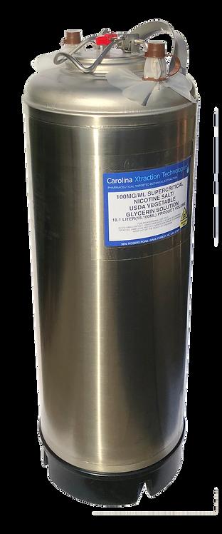 18.1 Liter Supercritical Nicotine Salt 100MG/ML