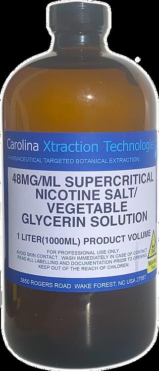 1 Liter Supercritical NicSalt 48MG/ML VG