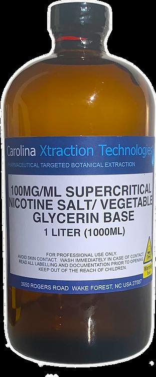1 Liter Supercritical VGSalt 100MG/ML VG