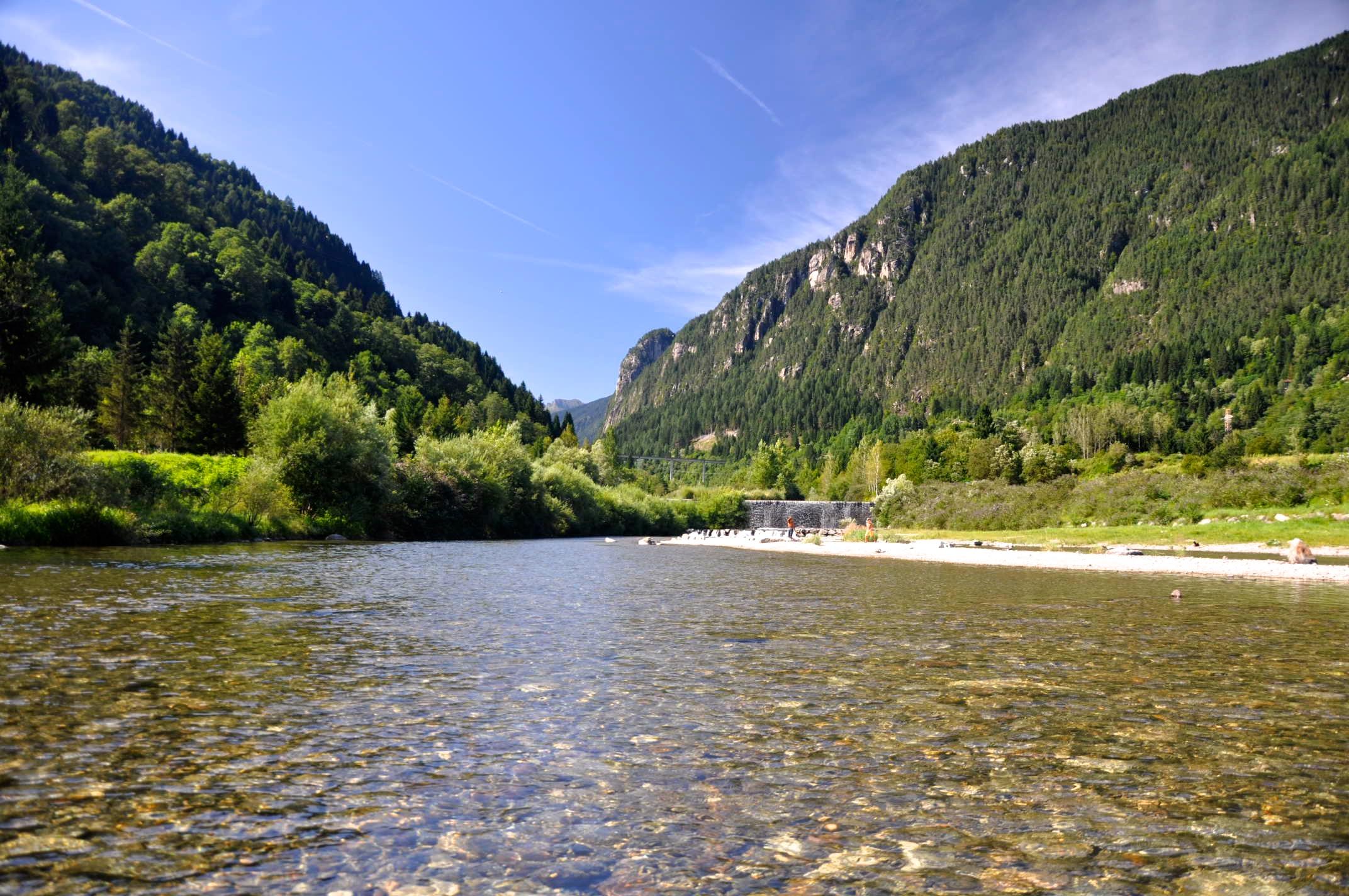 Relax sul torrente Vanoi (300mt)