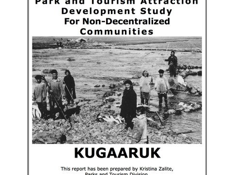 Site Analysis for a new park in Kugaaruk, Nunavut. Client: Nunavut Territorial Parks Department. Part of an immersive site analysis as Landscape Coordinator for the Nunavut Territorial Parks Department.