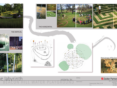Beacon Hill Labyrinth Waterpark Design for Zeidler Partnership (not constructed).