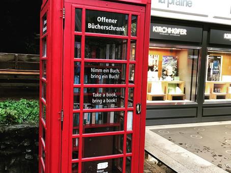 英國電話亭,緣何在瑞士?