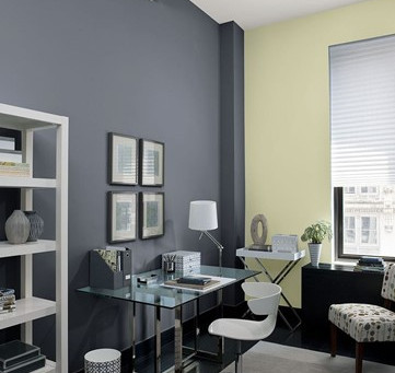 3 Top Tips on choosing a Colour Scheme for Your Home Office