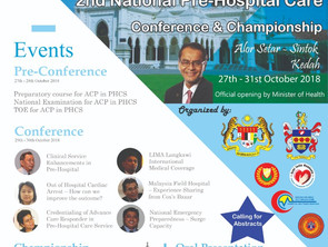 2nd National Pre Hospital Care Conference & Championship