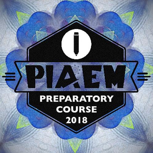 PIAEM PREPARATORY COURSE 2018