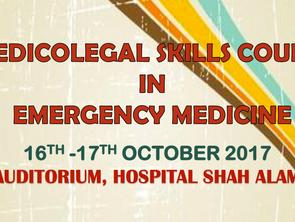 Medicolegal Skills Course in Emergency Medicine 2017