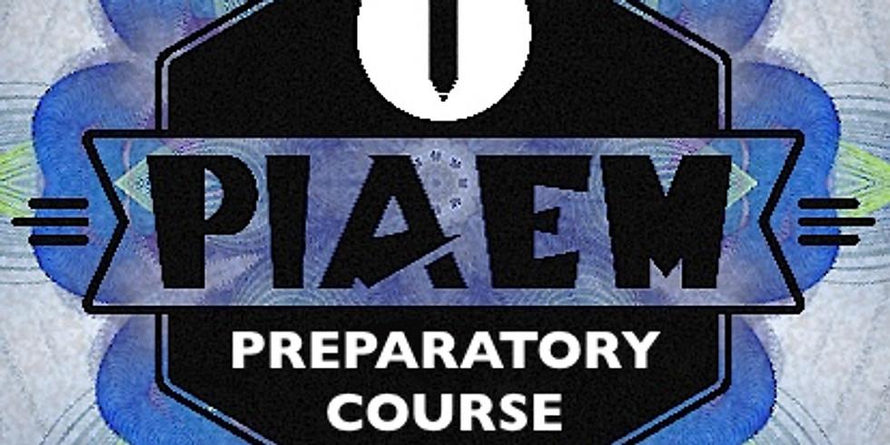 PIAEM PREPARATORY COURSE 2019