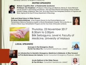 Geriatric Emergency Medicine Symposium and Seminar on Gait Disorders & Falls