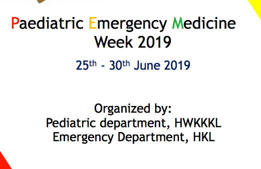 Paediatric Emergency Medicine Week 2019