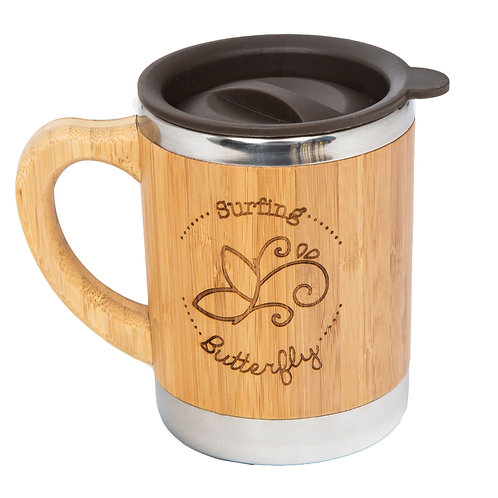 On-The-Mug Bamboo Mug