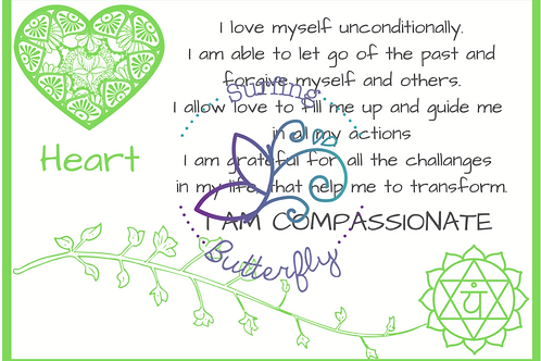Heart Affirmation Card