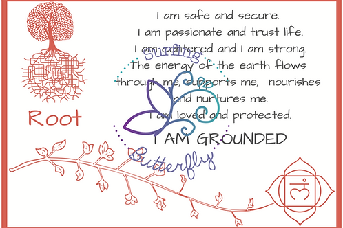 Root Affirmation Card