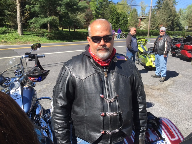 VFW RIDERS MIKE REGAN RIDE TONY