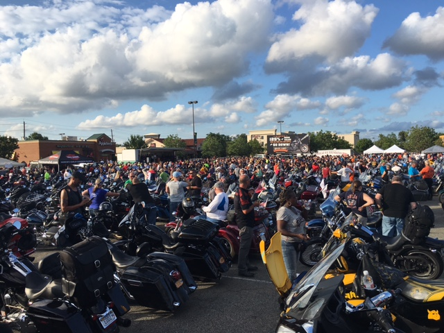 VFW RIDERS AMERICAS 911 RIDE 7