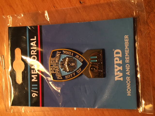 VFW RIDERS AMERICAS 911 RIDE NYC OFFICERS PIN