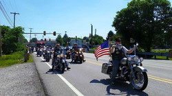 VFW RIDERS PARADE 1