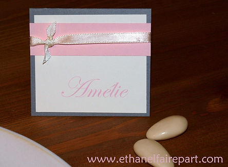 Marque-place mariage