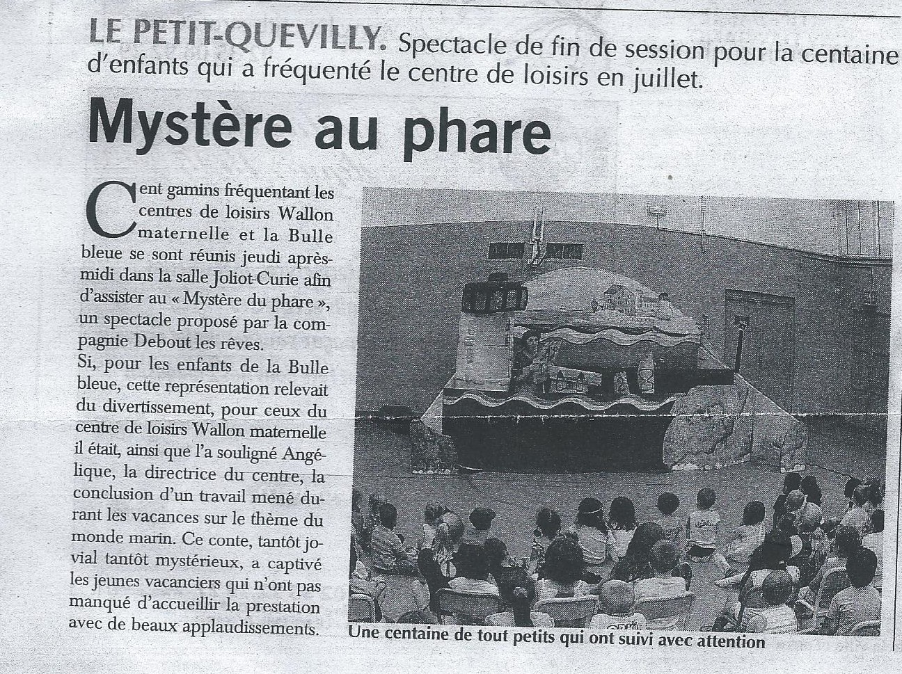 Théâtre enfants Île de France