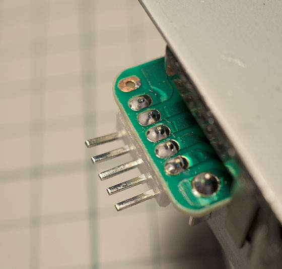 Arcade stick connector