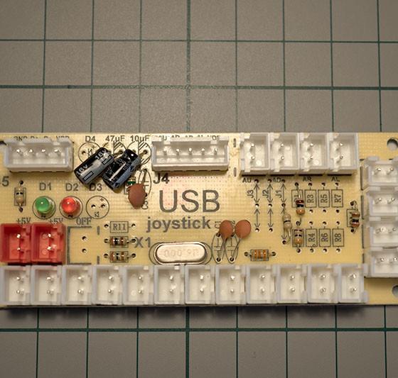Arcade Stick Circuit Board