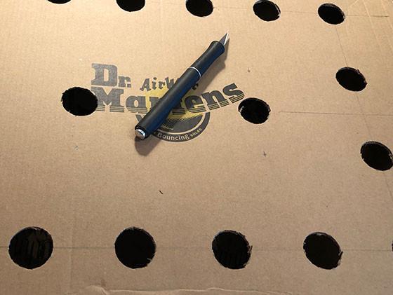 Cutting Holes