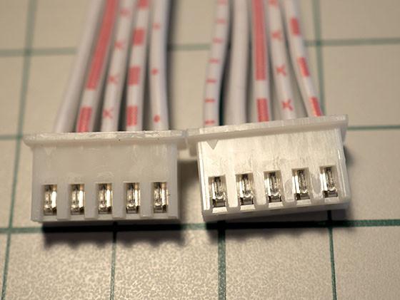 5-pin connector Arcade Stick - PCB