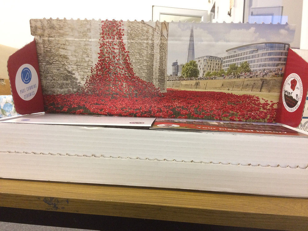 Photograph of 'Blood Swept Lands and Seas of Red' in the presentation box