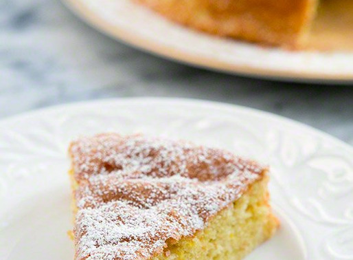 Flourless Lemon Almond Cake Recipe