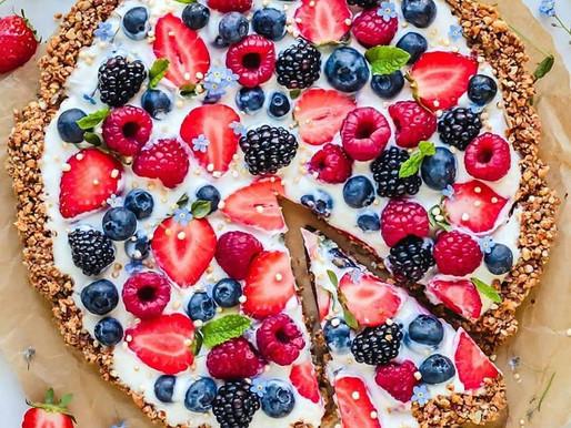 Berry Breakfast Pizza