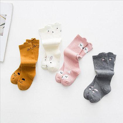 Knee High Animal Socks - 6 months to 3 year