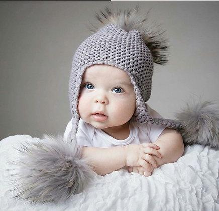 Tassel Pom Pom Hat
