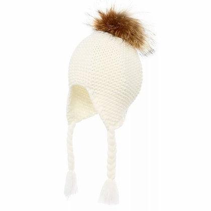 Kaiia Knitted Pom Hat