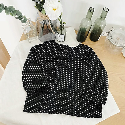 Cecily Dot Blouse