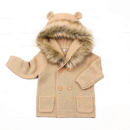 Jesse Fur Hooded Jacket
