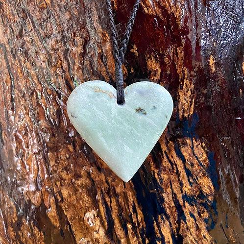 Elegant Pounamu Heart