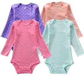 4 piece Long Sleeve Bodysuit - spot