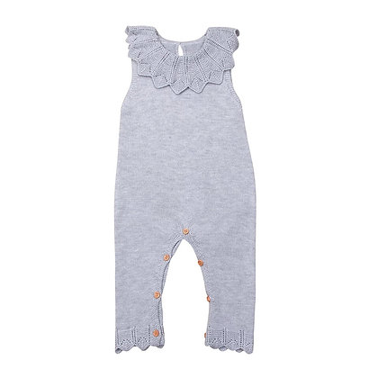 Knitted Lacey Jumpsuit