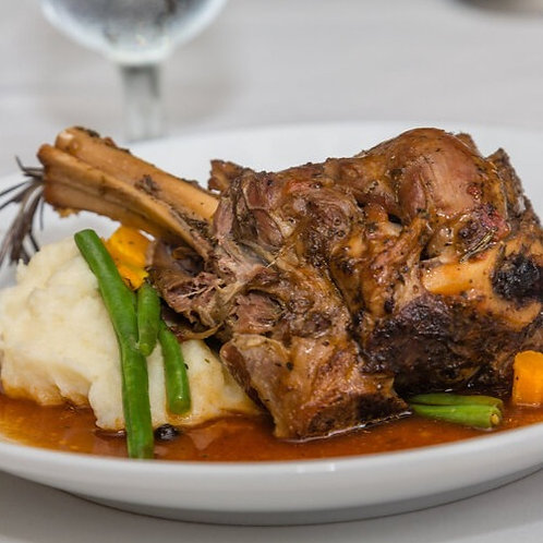In the Mix Lamb Shanks for two